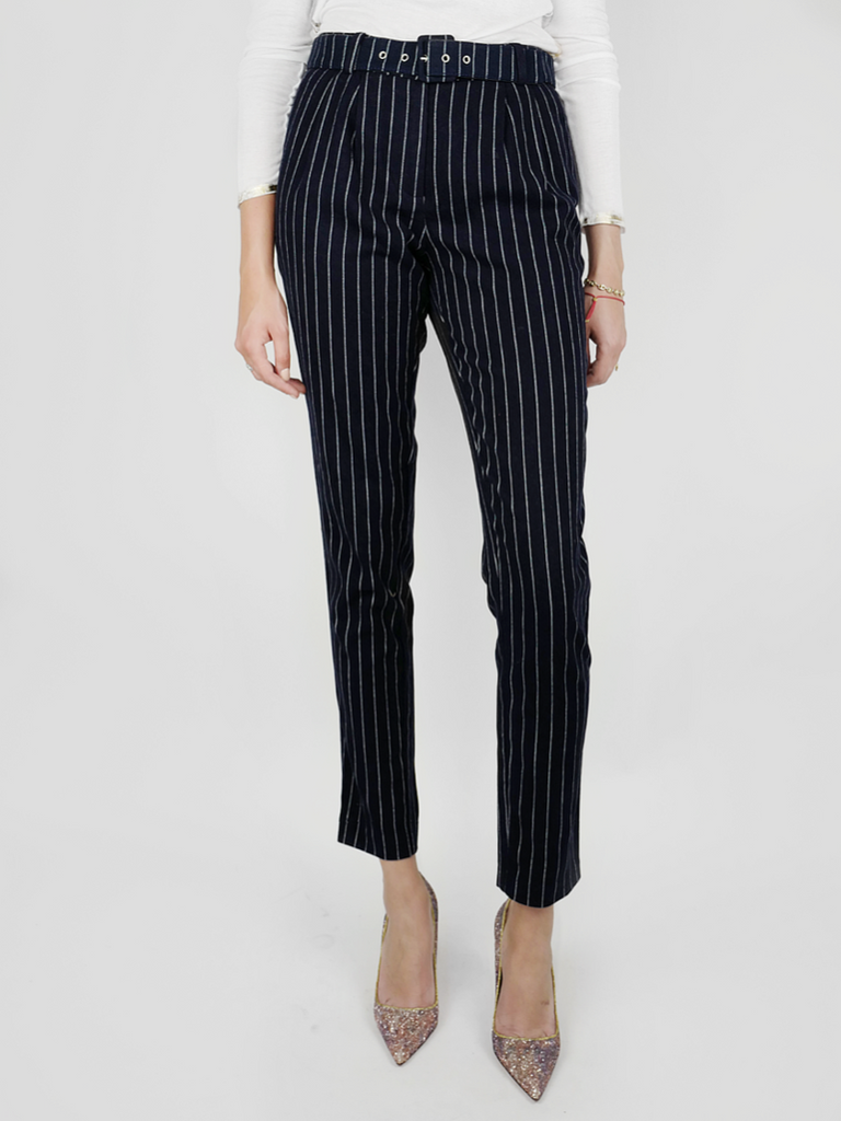 J.O.A. LA NAVY STRIPE PANTS - Season Seven NYC