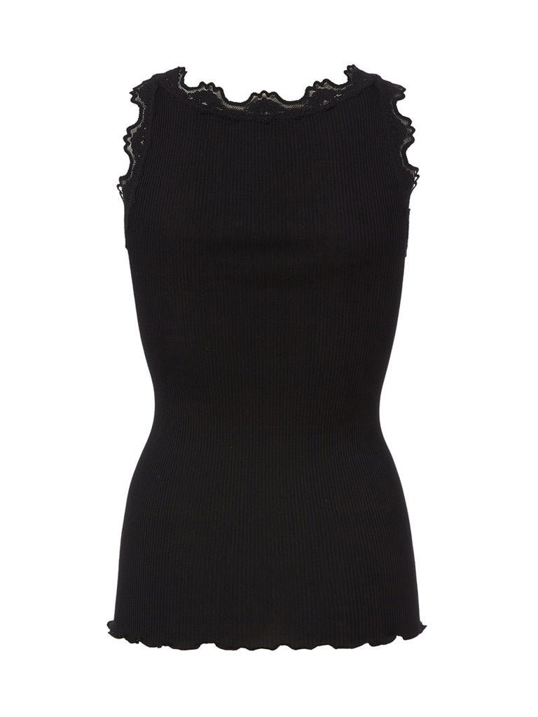 LACE TOP IN SILK - Season Seven NYC