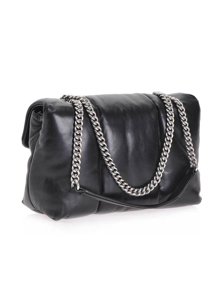 LOVE BAG PUFF QUILTING IN NAPPA LEATHER - Season Seven NYC