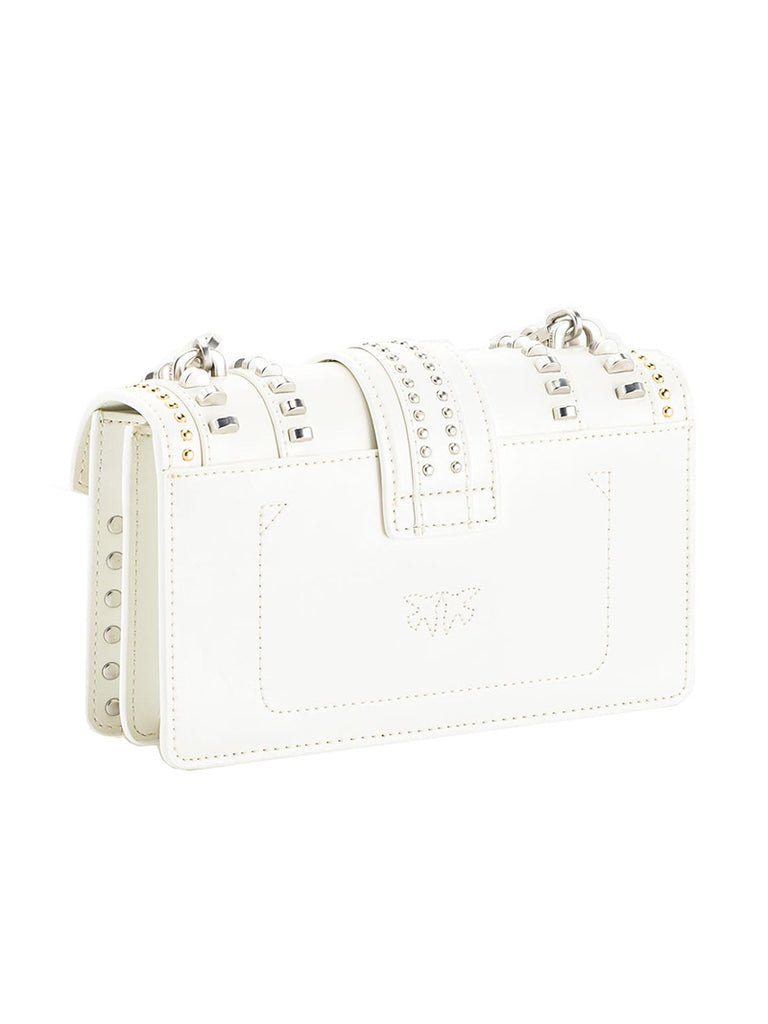 MINI LOVE BAG MIX STUDS IN LEATHER - Season Seven NYC