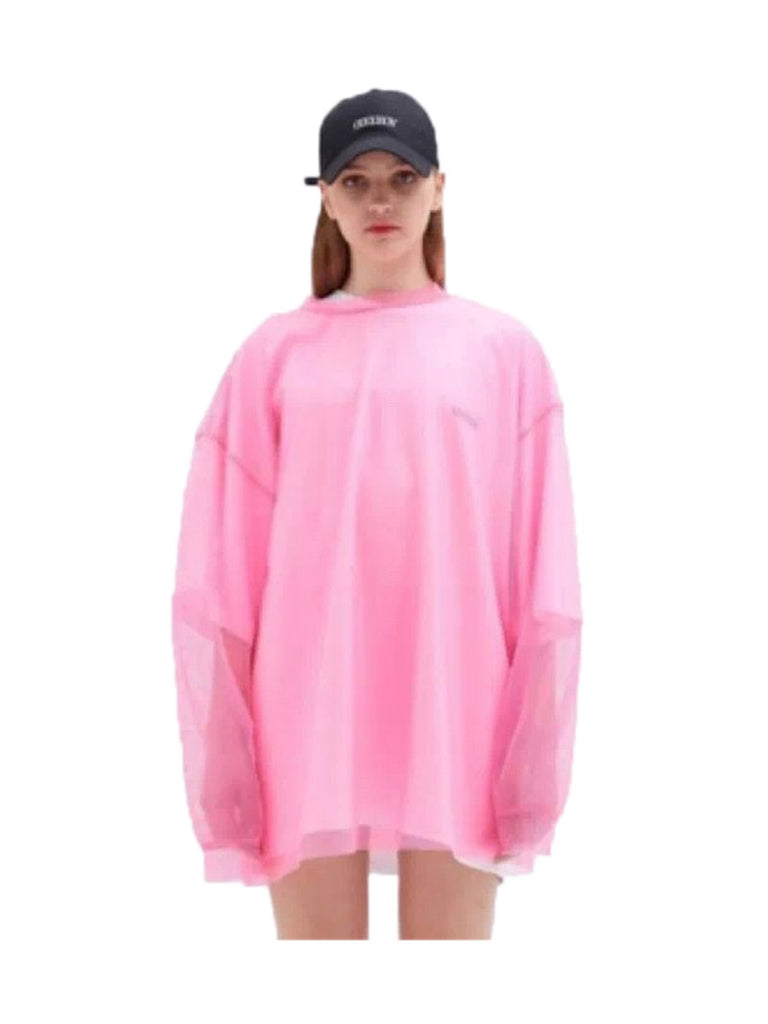 OVERSIZED LS MESH SHIRT - Season Seven NYC