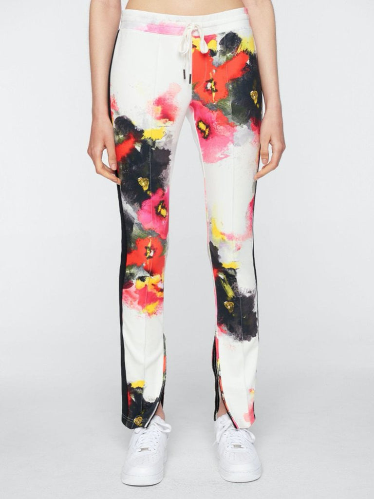 Watercolor floral cigarette pant - Season Seven NYC