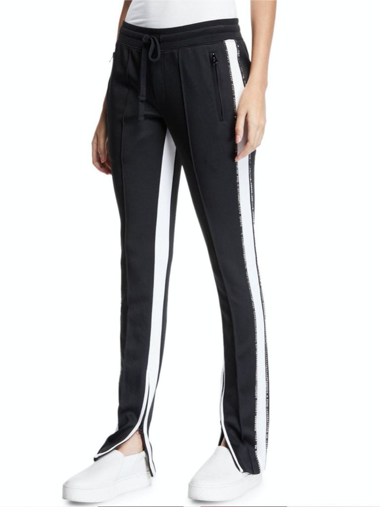 Black cigarette track pants - Season Seven NYC