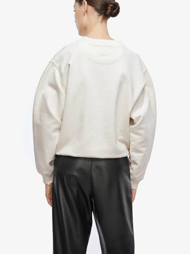RAMONA SWEATSHIRT WALK WITH ME - IVORY - Season Seven NYC