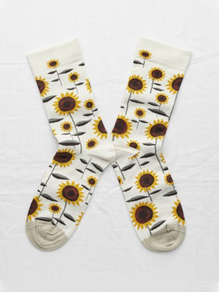 Socks Natural Sunflower - Season Seven NYC