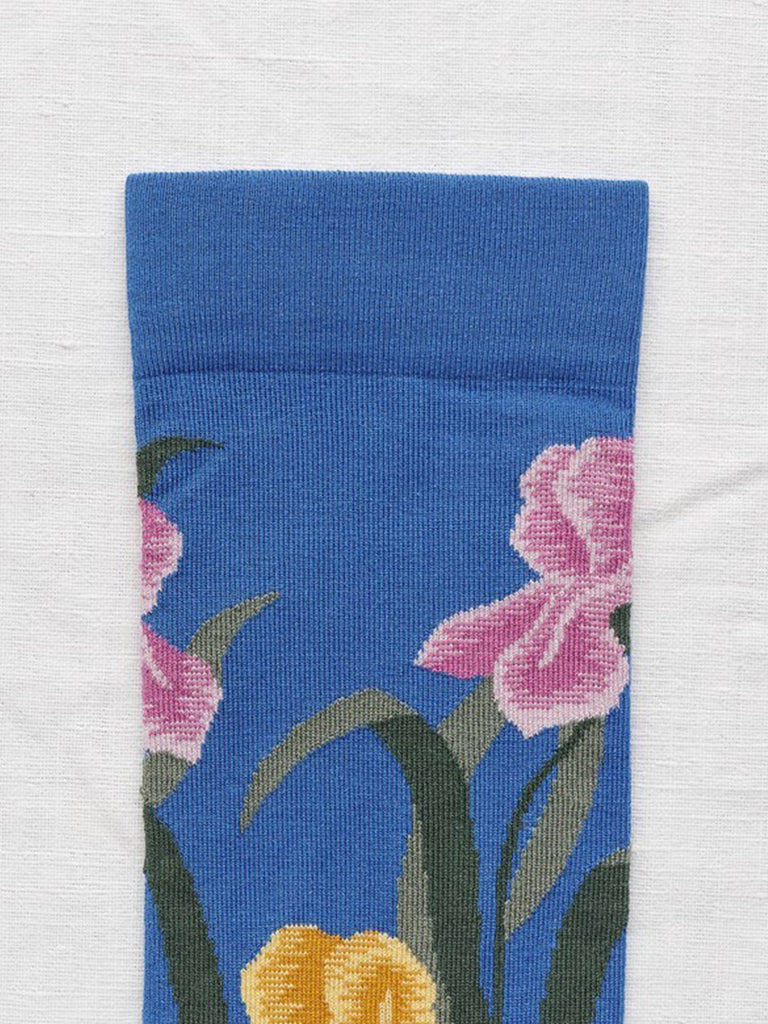Socks Cobalt Iris - Season Seven NYC