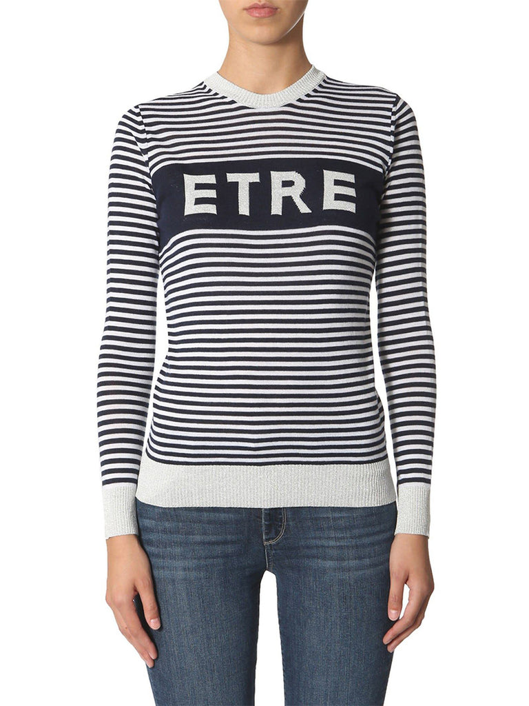 Striped Logo Jumper - Season Seven NYC