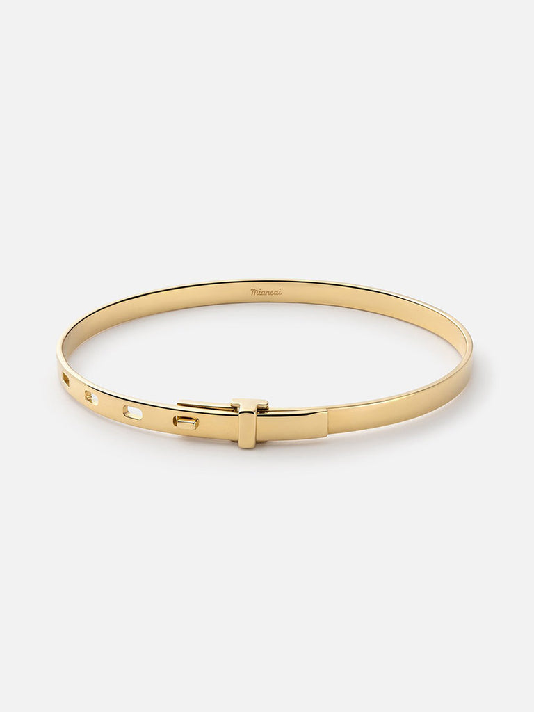 Tailor Cuff, Gold Vermeil - Season Seven NYC