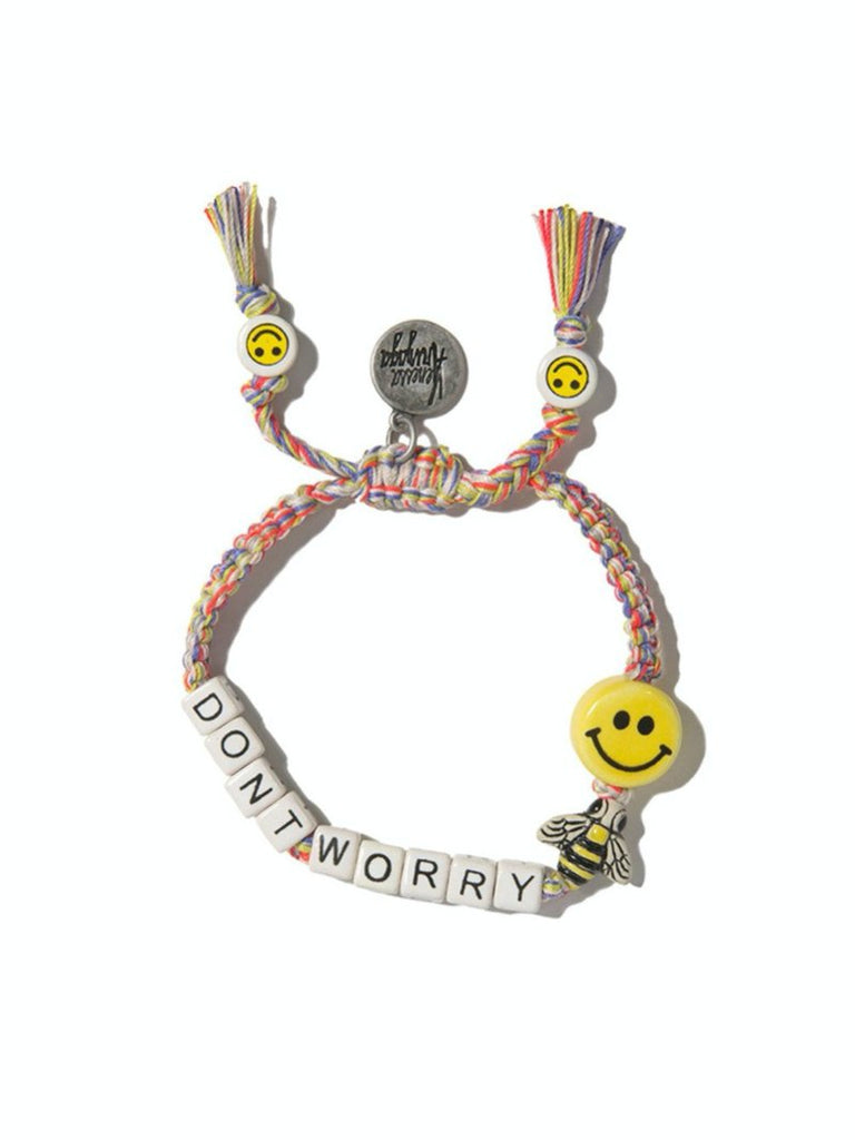 Don't worry Bee happy bracelet - Season Seven NYC