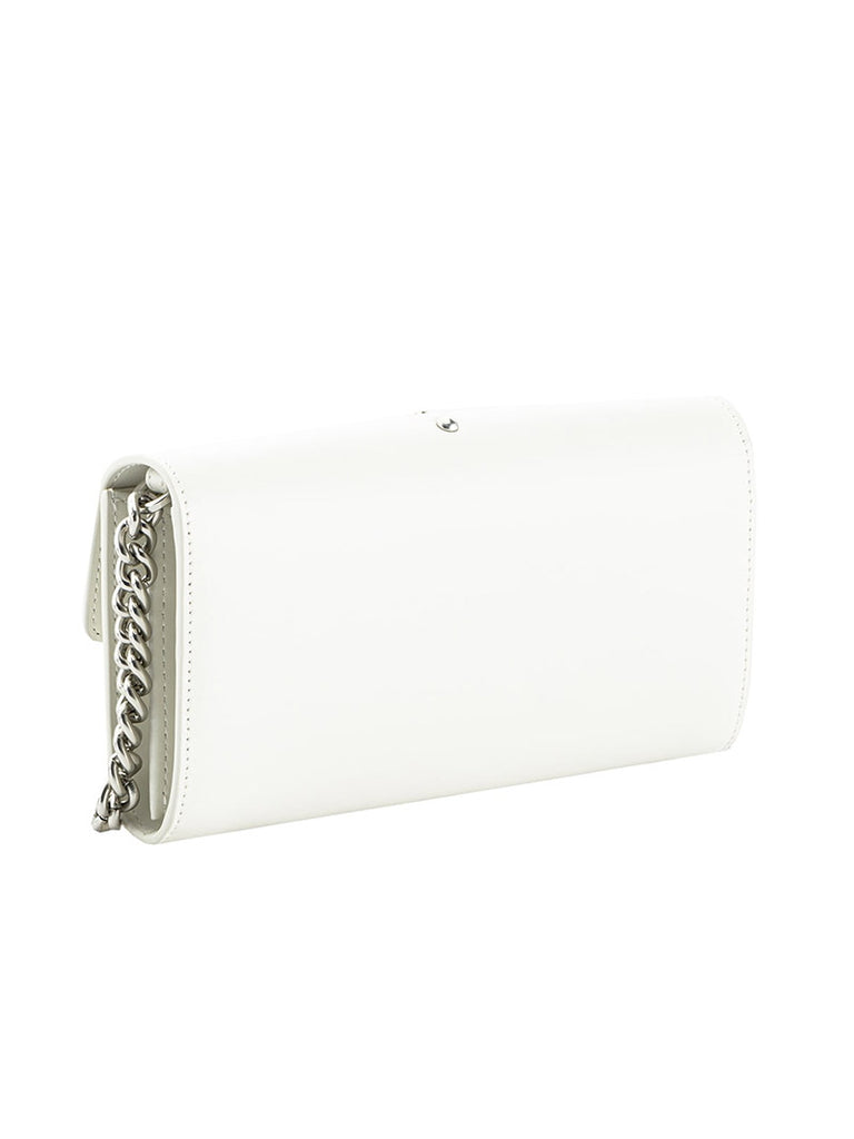 LEATHER WALLET WITH SHOULDER STRAP - Season Seven NYC