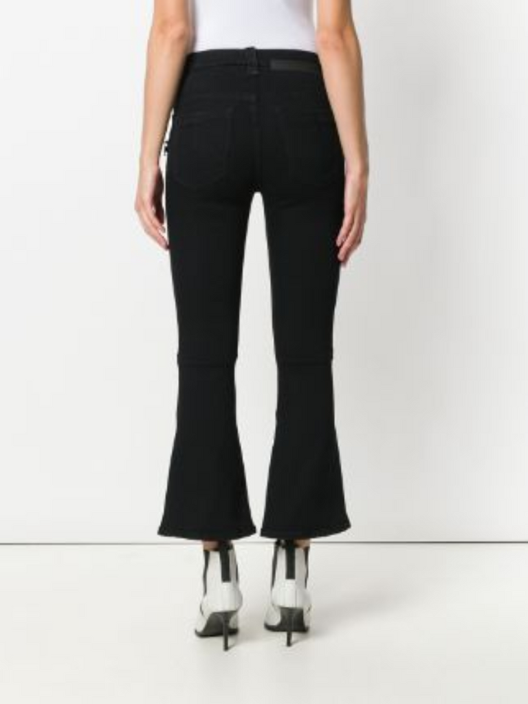 Unravel Project Flared Cropped Jeans - Season Seven NYC