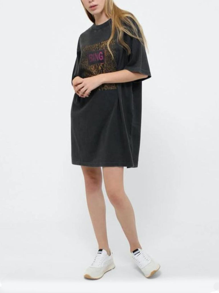 Anine Bing Harley Tee Dress (Only One Left) - Season Seven NYC