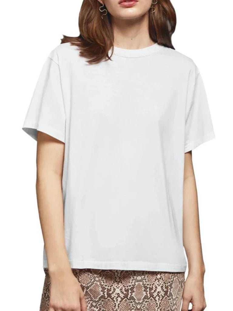 Anine Bing Maya Tee White (Only One Left)