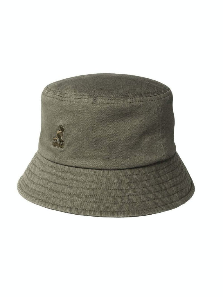 Kangol Washed Bucket Hat Smog - Season Seven NYC