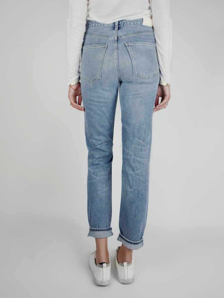 Liya High Rise Classic Fit Jeans - Season Seven NYC
