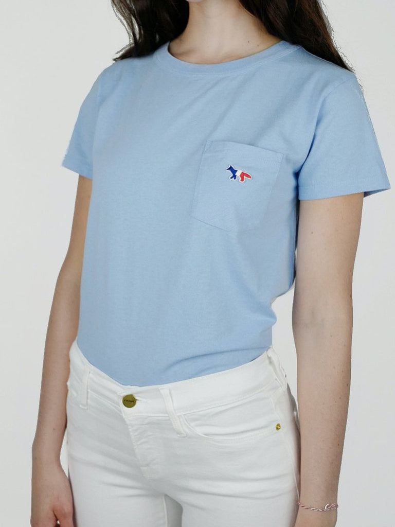 Tricolour Fox Patch T-Shirt - Season Seven NYC