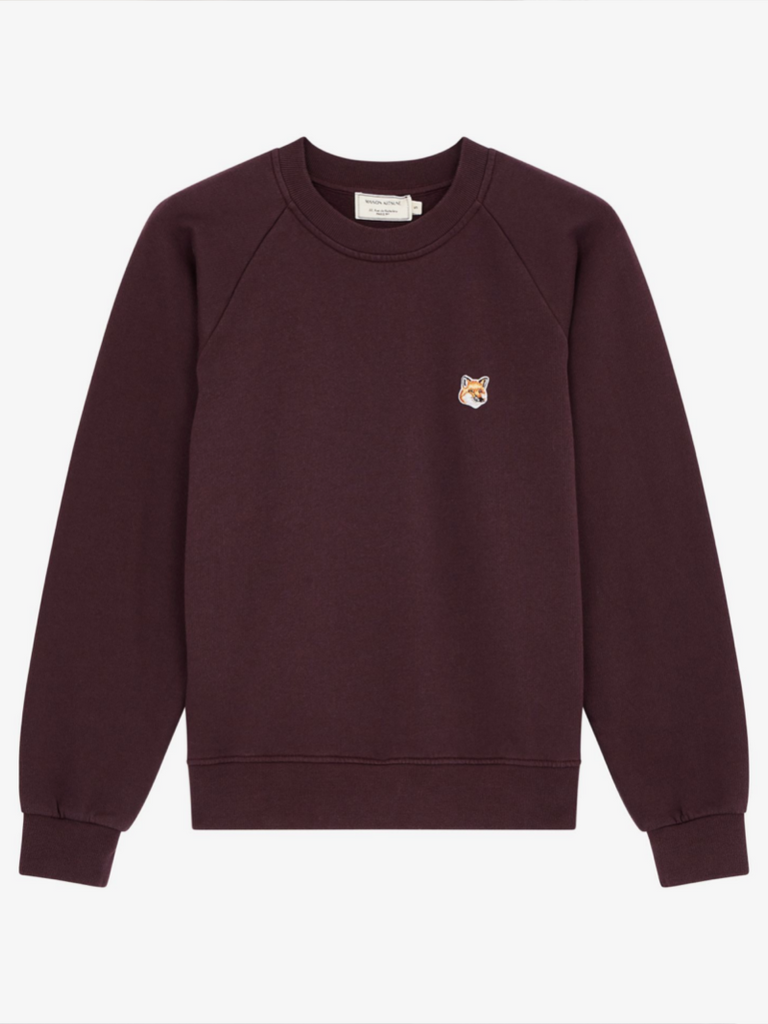 FOX HEAD PATCH SWEATSHIRT - Season Seven NYC