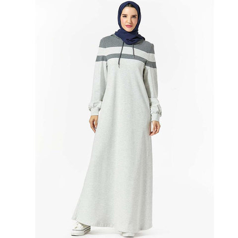 Nabeela Jersey Hooded Wear