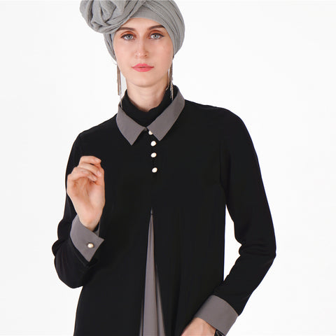 Formal Crepe Abaya - Divasty