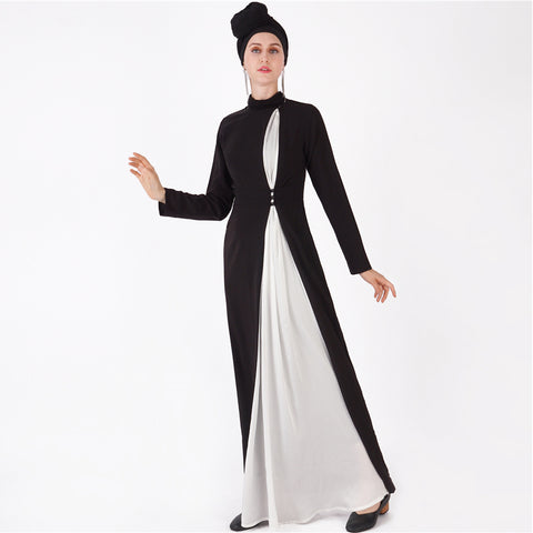 Qadriyyah Contrast Dress