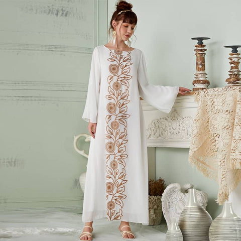 Crepe Embroidery Dress