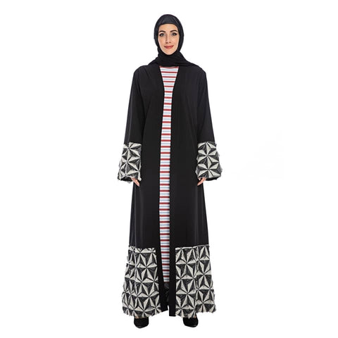 Hana Patterned Abaya