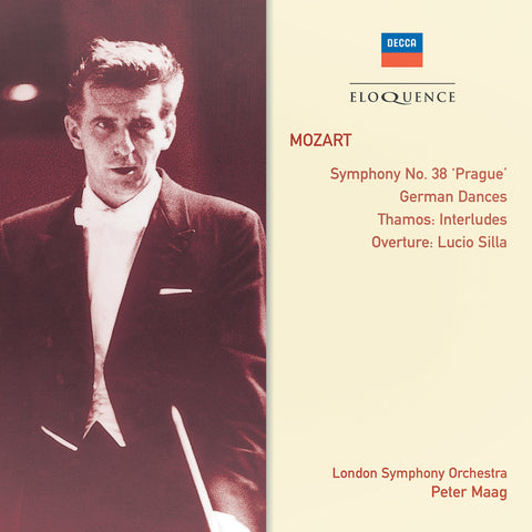 Mozart: Symphony No. 38; Thamos: Interludes; German Dances