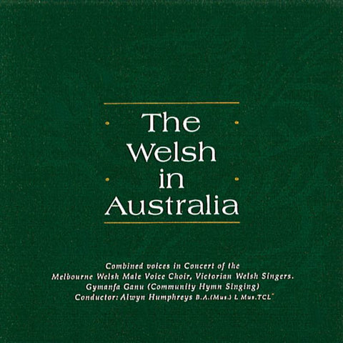 The Welsh in Australia, Volume 1