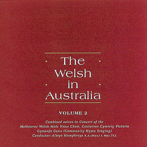 The Welsh in Australia, Volume 2