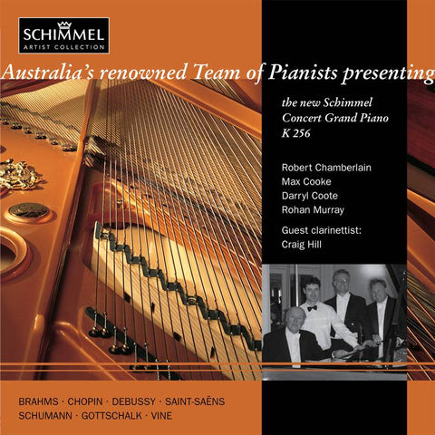 Team of Pianists presents the Schimmel K 256