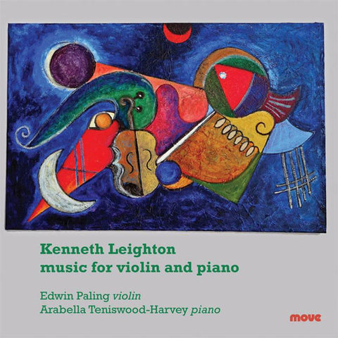 Kenneth Leighton music for Violin and Piano
