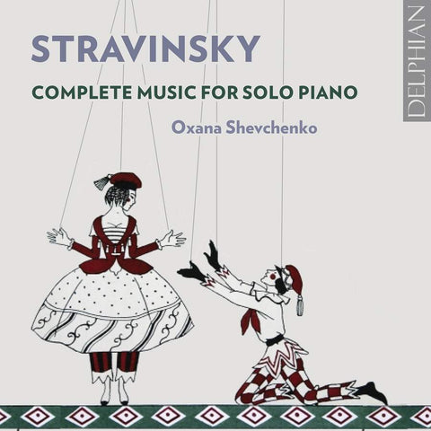 Stravinsky Complete Solo Piano Works [2CD]
