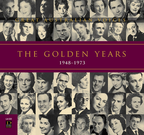 Great Australian Voices - The Golden Years 1948-1973 [4CD]