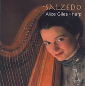 Alice Giles plays Salzedo