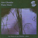 Anne Ghandar - Piano Music