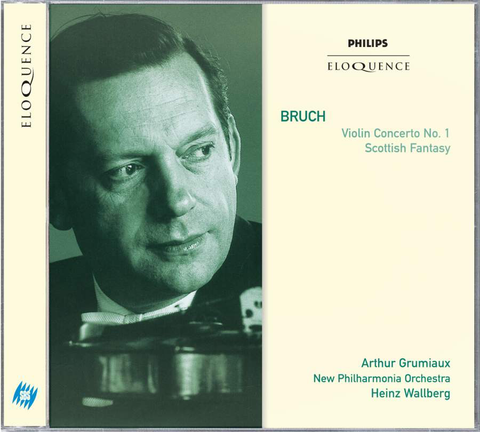 Bruch: Violin Concerto No.1, Scottish Fantasy