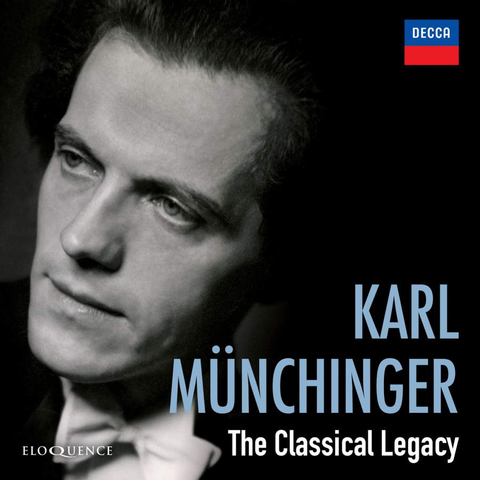 Karl Münchinger - The Classical Legacy [8CD]