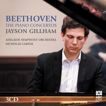 Beethoven: The Piano Concertos - Gillham
