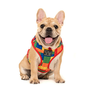 Blocktastic Adjustable Dog Harness