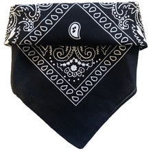 Load image into Gallery viewer, Black Bandana