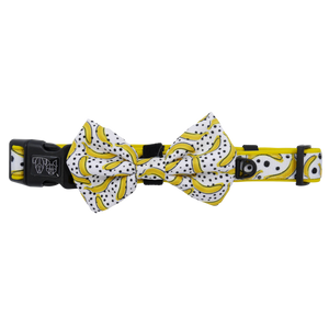 Going Bananas Collar and Bow Tie