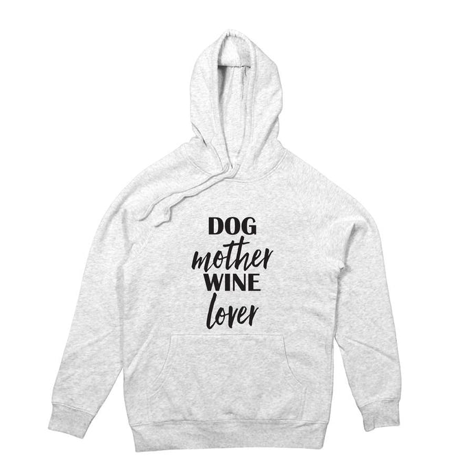 Dog Mother Wine Lover Hoodie