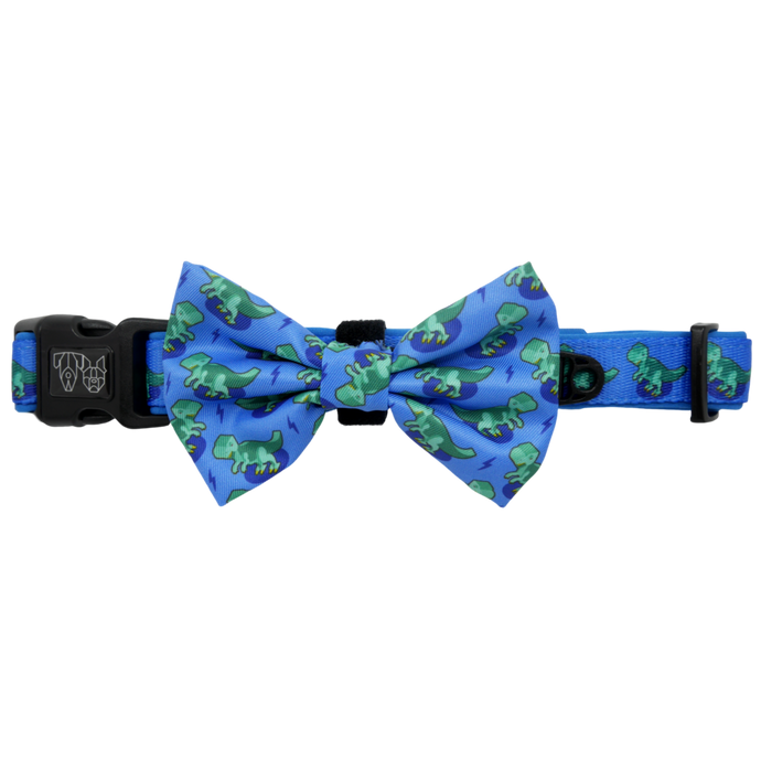 Rawr Collar and Bow Tie