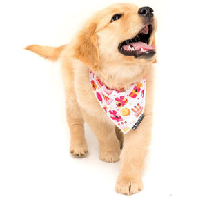 Happy Bark Day Girl Neckerchief