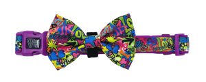 King of Graffiti Collar and Bow Tie