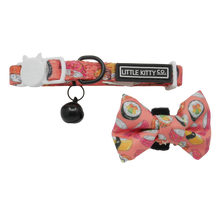 Load image into Gallery viewer, Sashimi Collar and Bow Tie