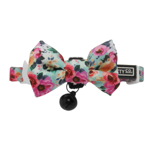 That Floral Feeling Collar and Bow Tie