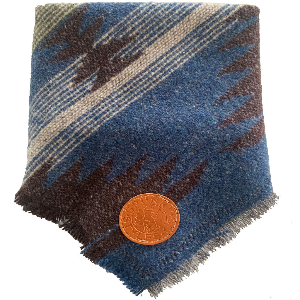 South River Peak Frayed Bandana