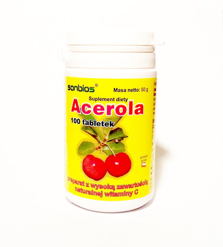 Acerola 100 tabletter