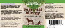 Load image into Gallery viewer, Seasonal Allergy Tincture 30ml